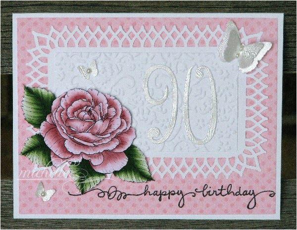 Grandma 90th Birthday Card Happy