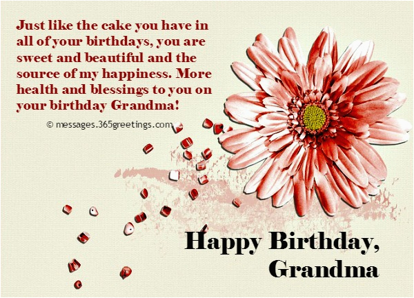 birthday messages grandma