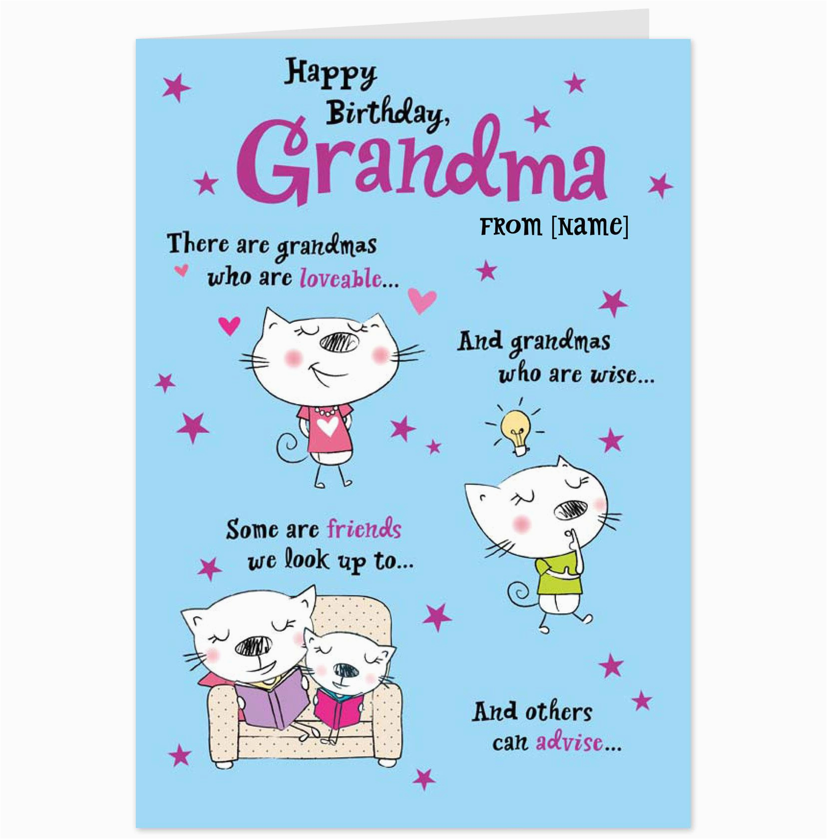 Grandma Birthday Card Sayings Funny Quotes For Quotesgram
