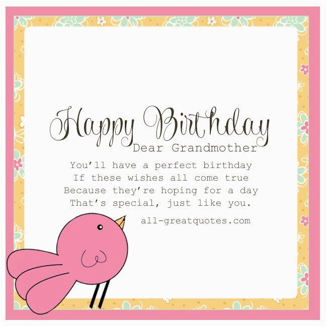 Grandma Birthday Card Sayings Picture 143693044338171591