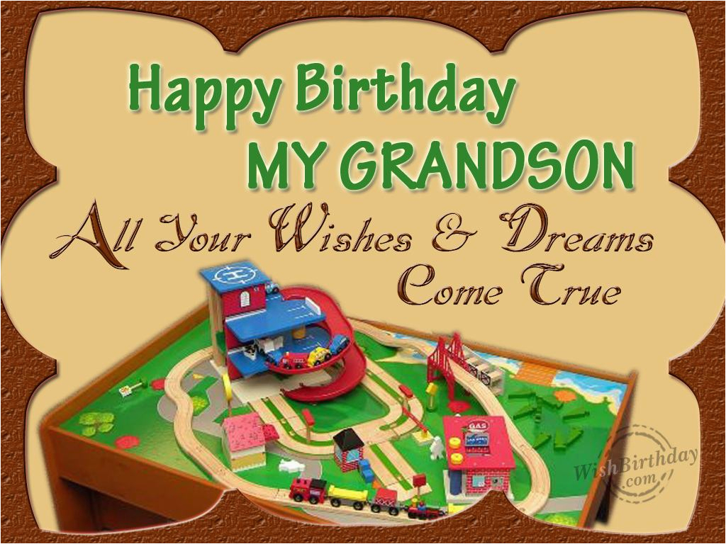 Grandson Birthday Wishes Greeting Cards For Images Pictures