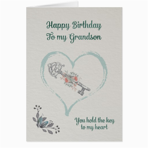 Grandson Birthday Wishes Greeting Cards Happy Card Zazzle