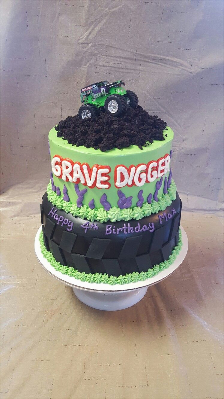 Grave Digger Birthday Decorations Cake Risen Indeed Cakes Pastries