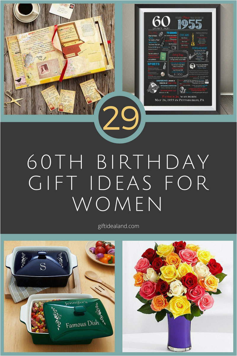 29 great 60th birthday gift ideas for her womens sixtieth