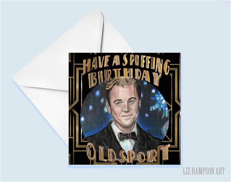 the great gatsby birthday card