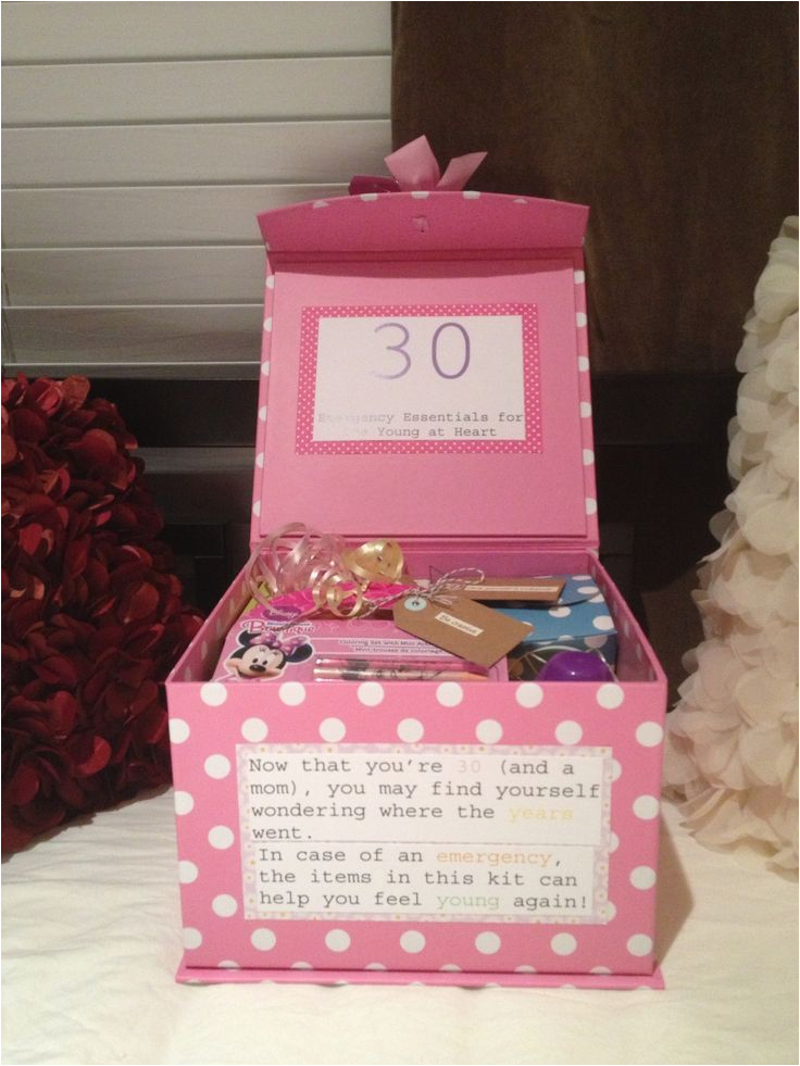 Great Gifts For 30th Birthday Her Present Cute Gift Ideas Pinterest