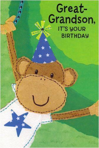 great grandson birthday card