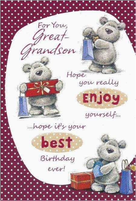 Great Grandson Birthday Cards 1st First Wishes Greetings Quotes For In