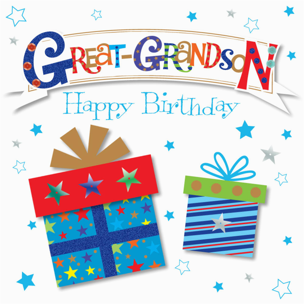 Great Grandson Birthday Cards Happy Greeting Card Love