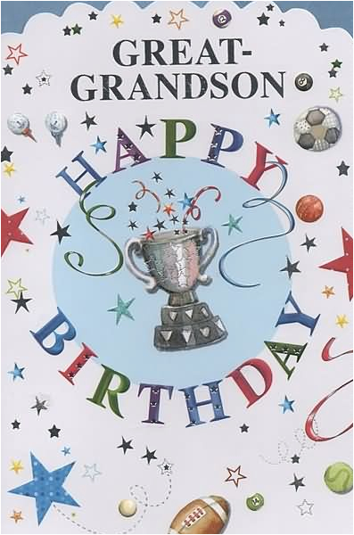 great grandson happy birthday wishes graphic