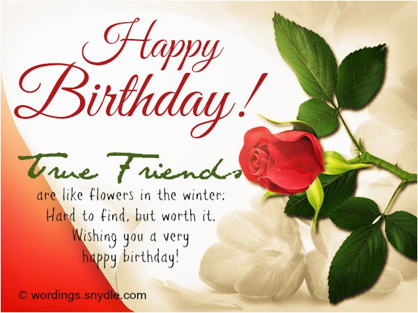 birthday wishes for a friend