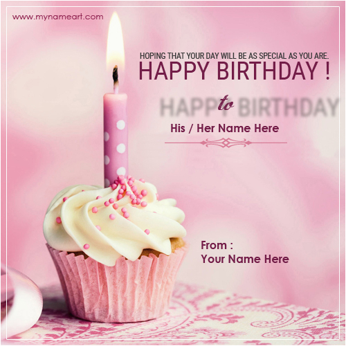 birthday cake wishes friend