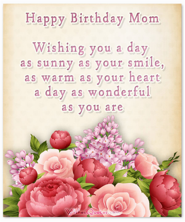 Greeting Cards For Mother S Birthday Happy Mom Heartfelt 39 Wishes