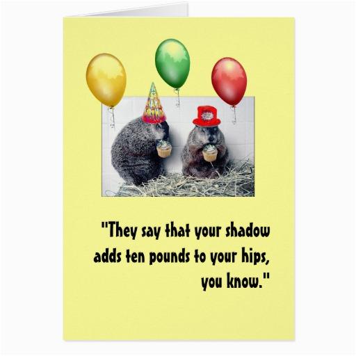 Groundhog Day Birthday Card Groundhog Day Birthday Card Zazzle