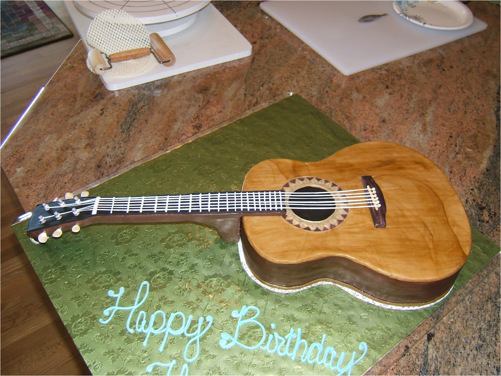 Guitar Birthday Decorations Guitar Cakes Decoration Ideas Little