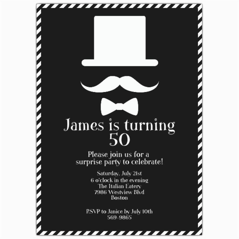Guy Birthday Invitations Mens Invitation Orderecigsjuice Info