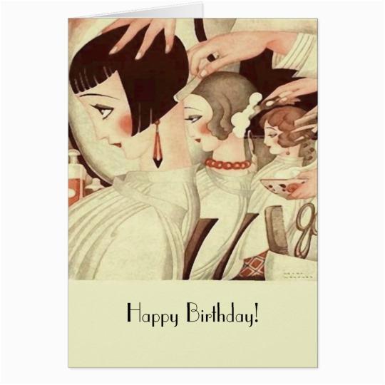 happy birthday for a hair stylist card 137347051613965818