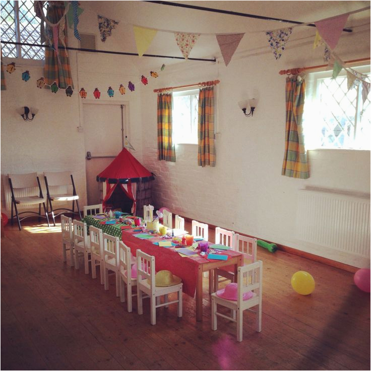 village hall kids party