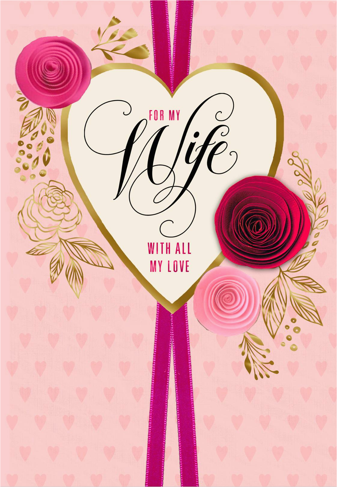 paper flowers for wife romantic valentine 39 s day card