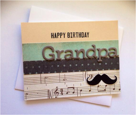 Handmade Birthday Cards For Grandfather Happy Grandpa Card Blank