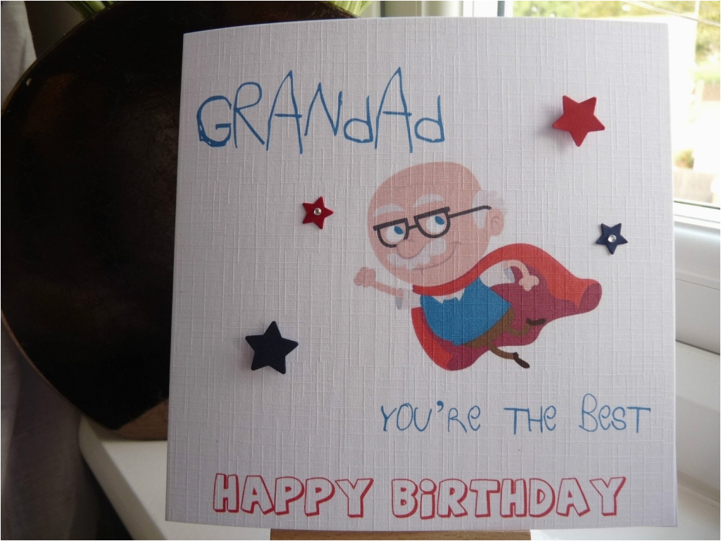 Handmade Birthday Cards For Grandfather Homemade Grandpa Card Design Ideas