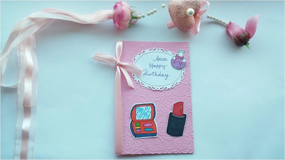 Handmade Birthday Card Mom Mum Wife Best Friend Nan Sister Girlfriend Daughter Personalised Funny