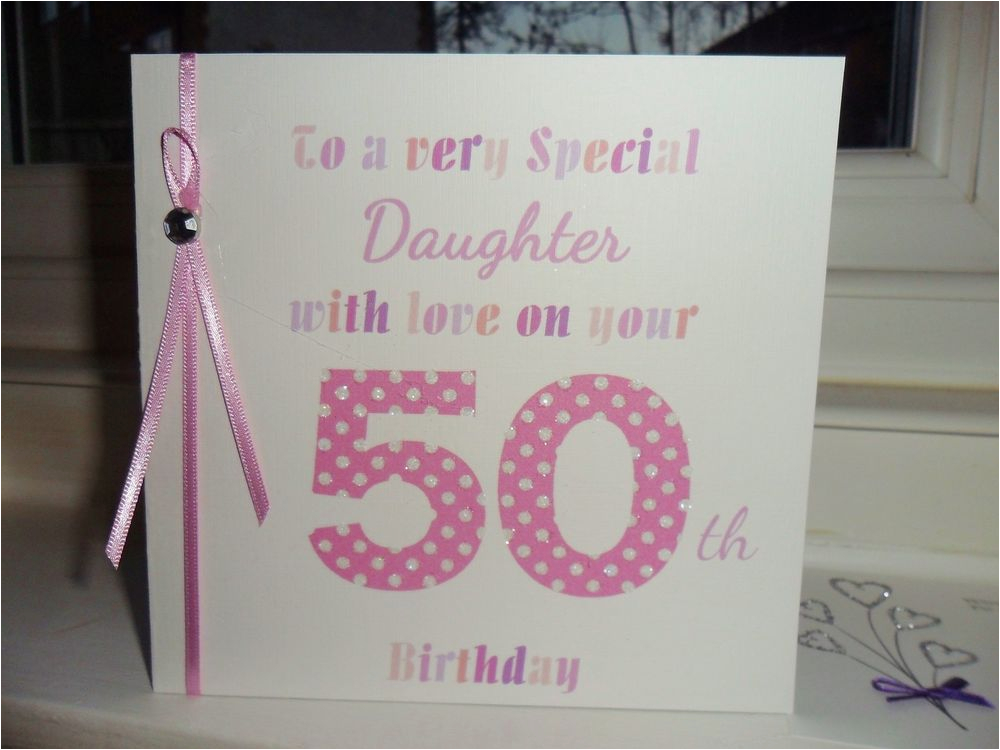 Handmade Birthday Cards For Mom From Daughter Personalised Card Mum Sister