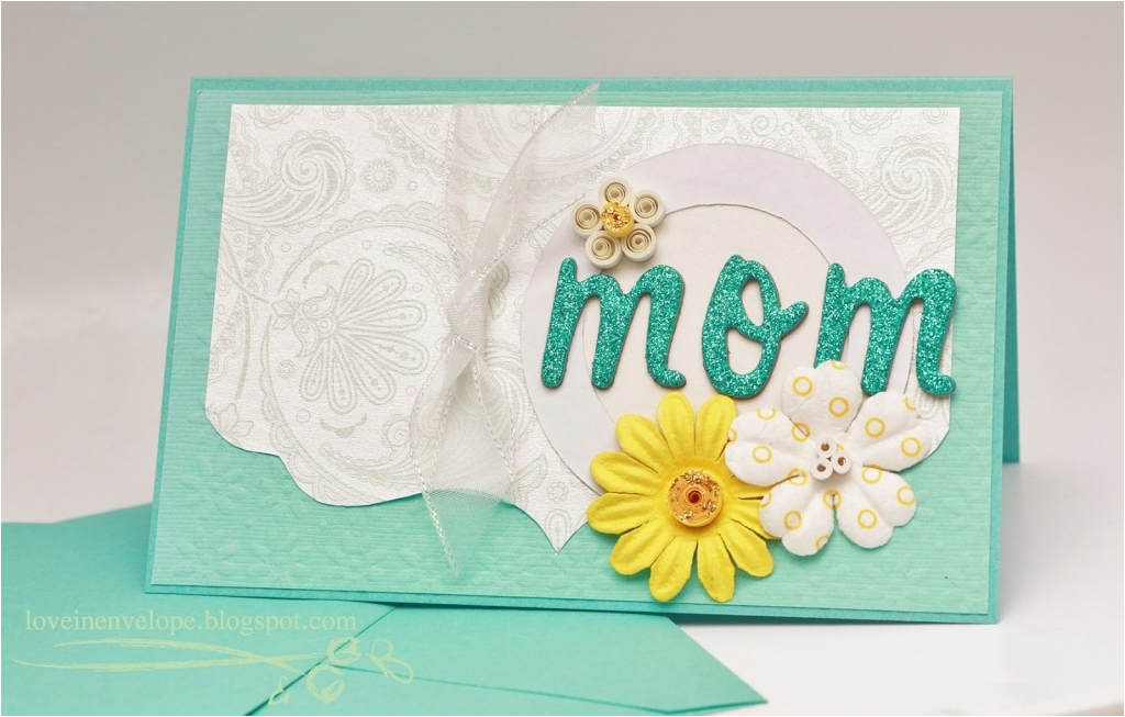 Handmade Birthday Cards For Mom From Daughter Homemade Card Design Ideas