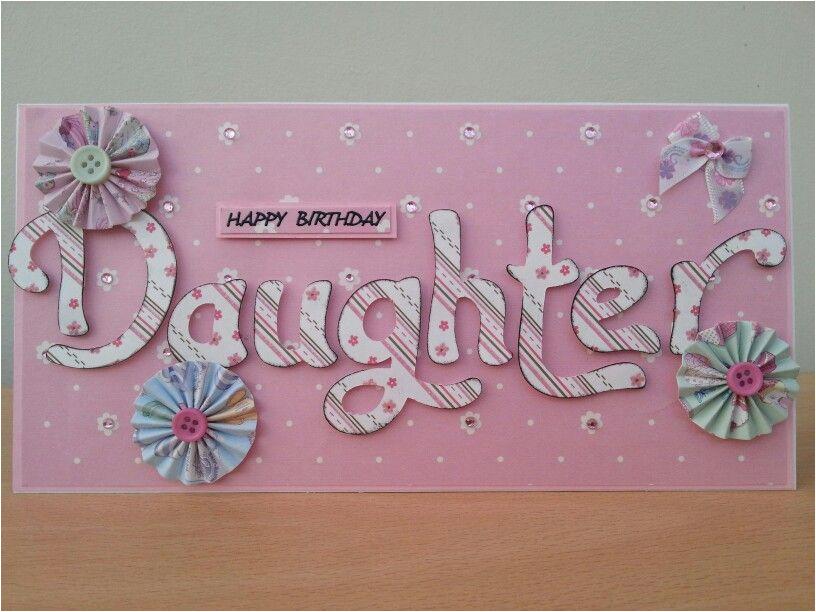 Handmade Birthday Cards For Mom From Daughter Homemade Www Imgkid