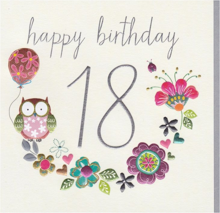 birthday cards ages 18 100 collection karenza paperie