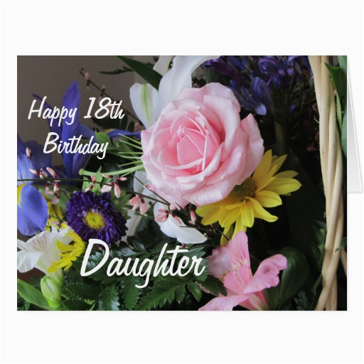 Happy 18th Birthday Flowers Daughter Cake Ideas And Designs