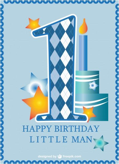 first birthday card baby boy 710238