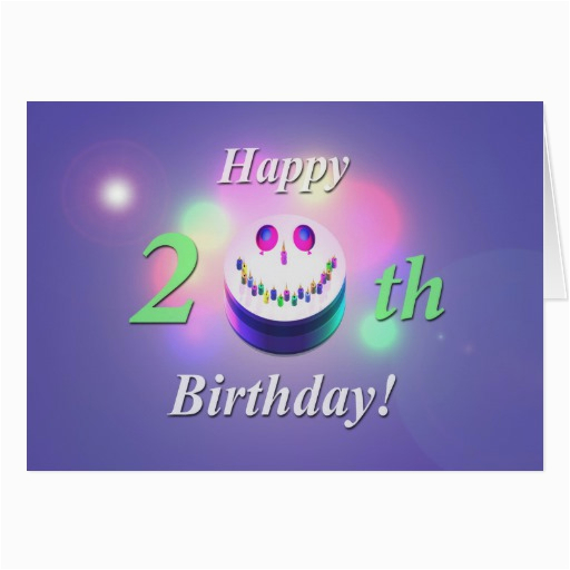 Happy 20th Birthday Cards Happy 20th Birthday Funny Quotes