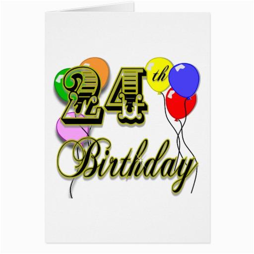 happy 24th birthday merchandise cards 137703501189676038