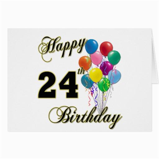 Happy 24th Birthday Cards Happy 24th Birthday New Calendar Template Site
