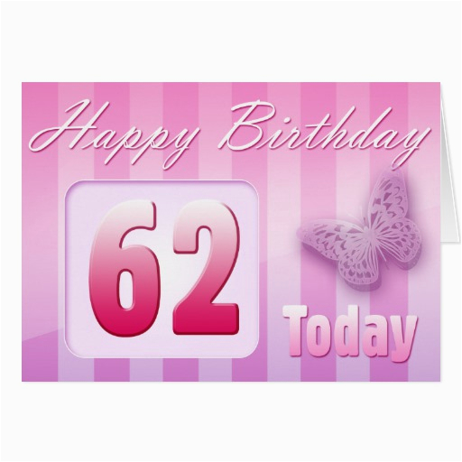 Happy 62nd Birthday Grand Mother Great Aunt Mum Card 137163050935688196