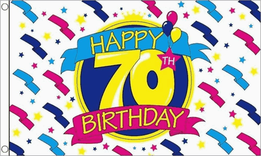 Happy 70th Birthday Decorations Happy 70th Birthday Party Banner 5