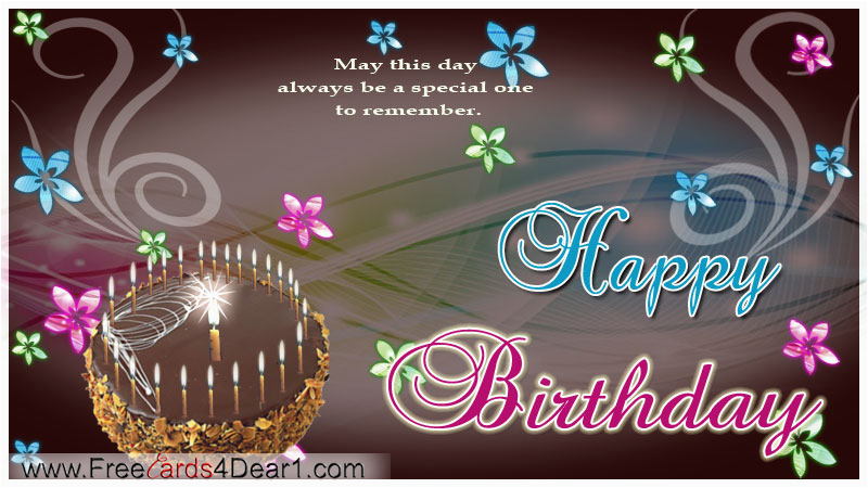 Happy Birthday Animated Cards Free Download Most Beautiful 2018 Wishes Greetings