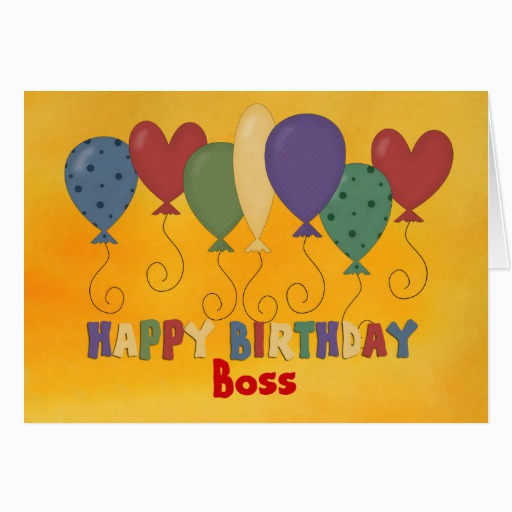 happy birthday boss colorful greeting card 137239204770127732