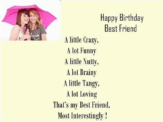 Happy Birthday Card For A Best Friend Free Ecards