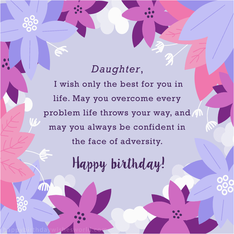 Happy Birthday Card For My Daughter Imageslist Com