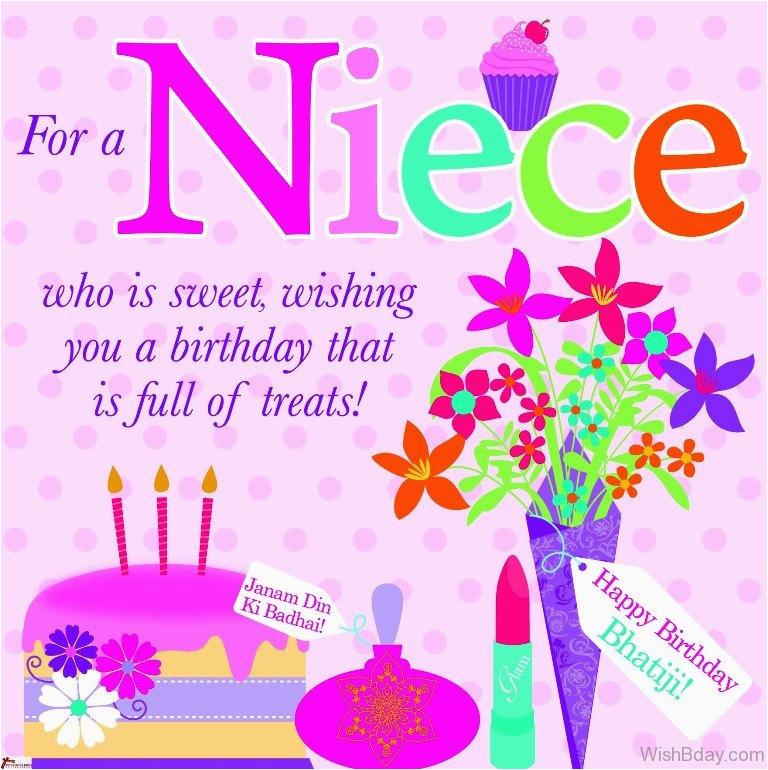Happy Birthday Card For My Niece 46 Wishes
