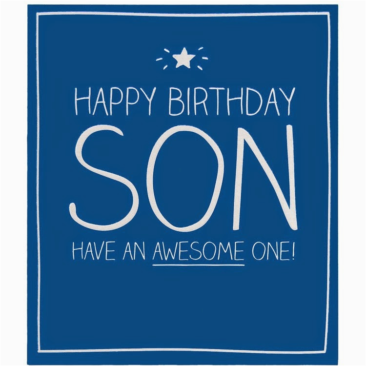 Happy Birthday Card For Son On Facebook Wishes