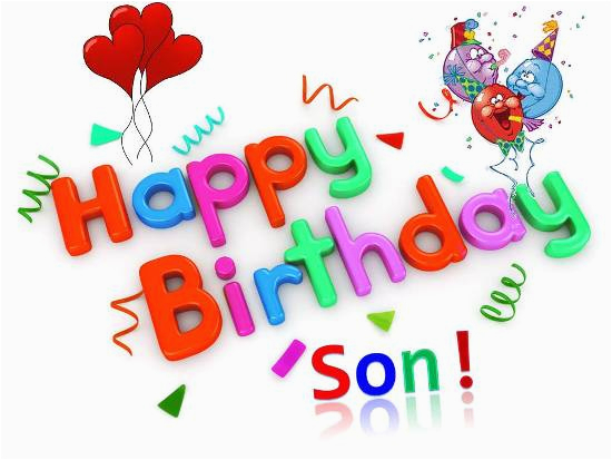 Happy Birthday Card For Son On Facebook 22 Quotes Quotesgram