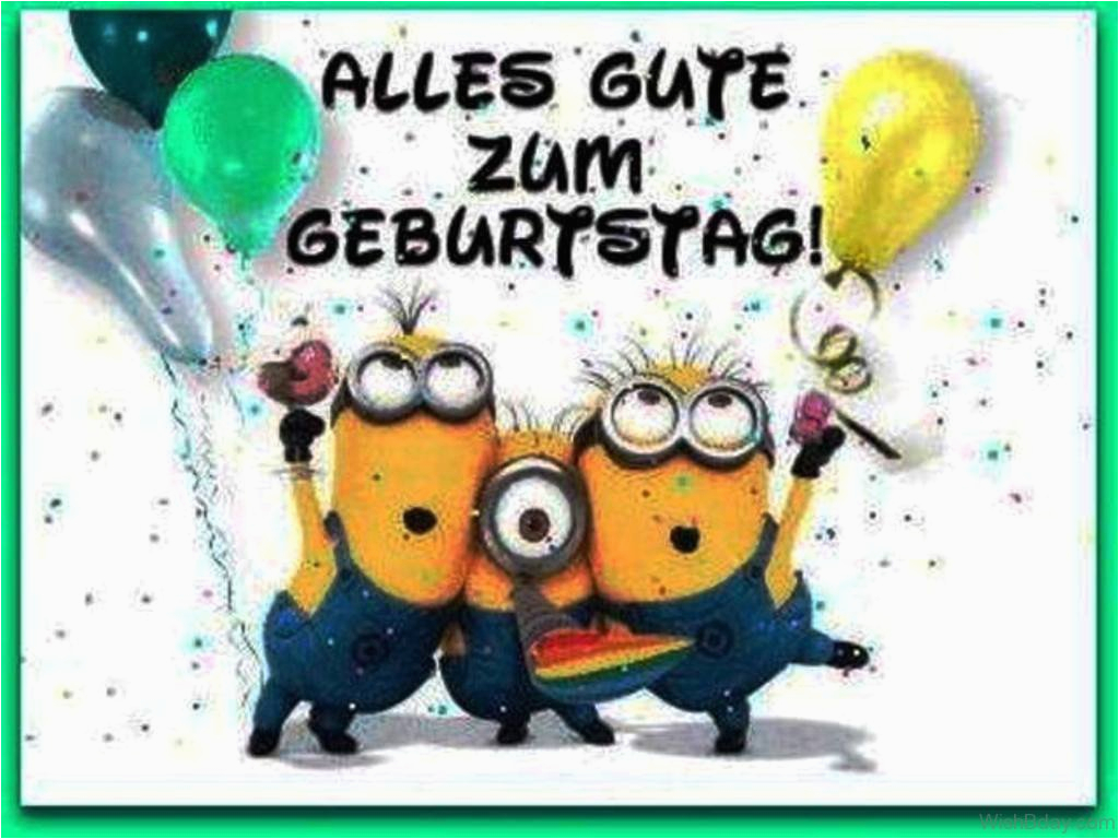 26 German Birthday Wishes