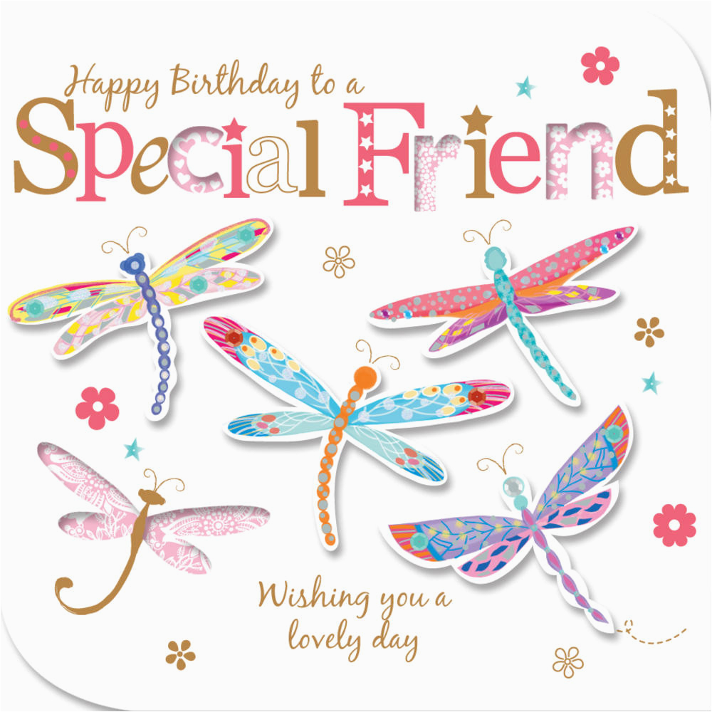 Happy Birthday Card To A Special Friend Greeting Cards Love Kates
