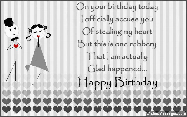 Happy Birthday Card To My Boyfriend Wishes For Quotes And Messages