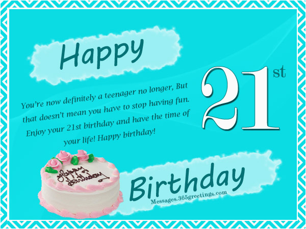Happy Birthday Cards 21 Years Old 21st Wishes Messages And Greetings