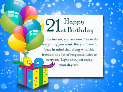 popular 21st birthday wishes messages for 21 year olds