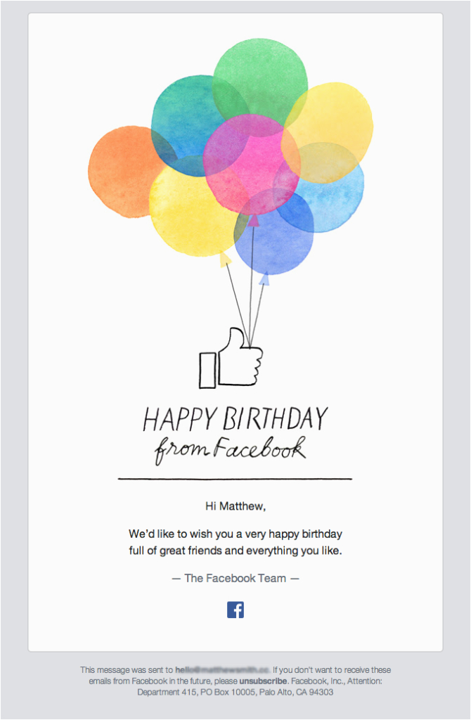 Happy Birthday Cards Email Best Practices Tips Tricks Mailup Blog